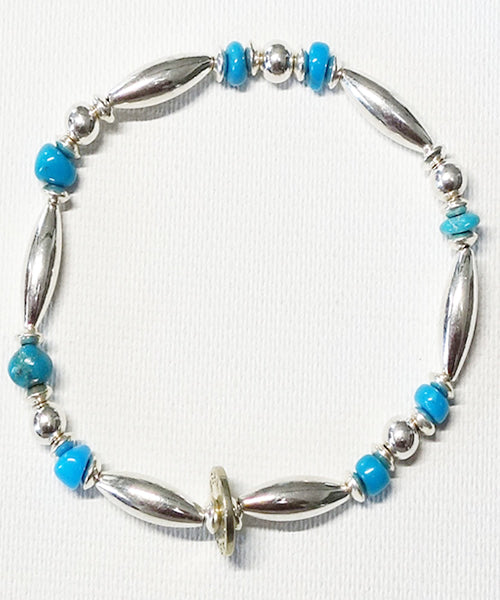 AkashicTree/アカシックツリー NATURAL STONE TURQUOISE BRACELET