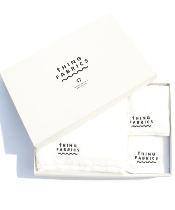 THING FABRICS/シングファブリックス TIP TOP 365 Towel Gift Box