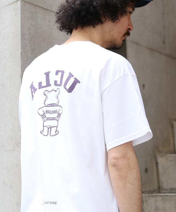 BOOKSTORE / ブックストア BOTH FACES 80S BEAR CREW TEE