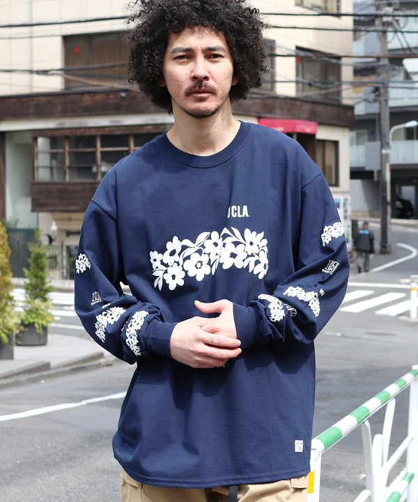 BOOKSTORE / ブックストア UCLA FLOWER 100TH LS TEE