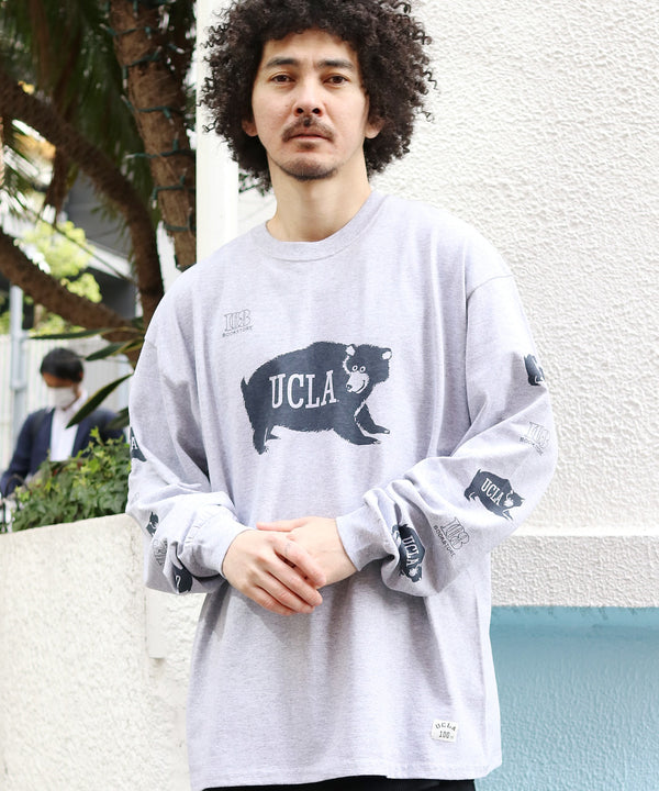 BOOKSTORE / ブックストア 1961 BEAR TICKET LS TEE