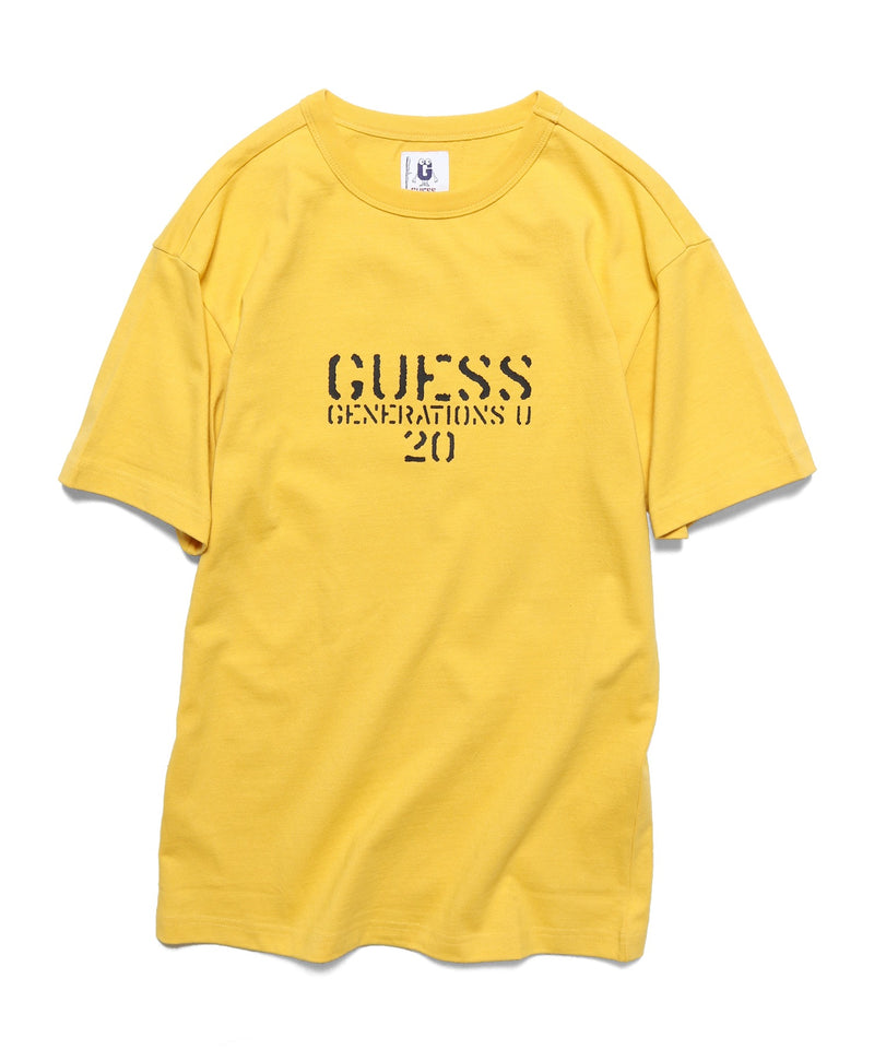 GUESS/ゲス MEN S S/SLV TEE SHIRT Tシャツ