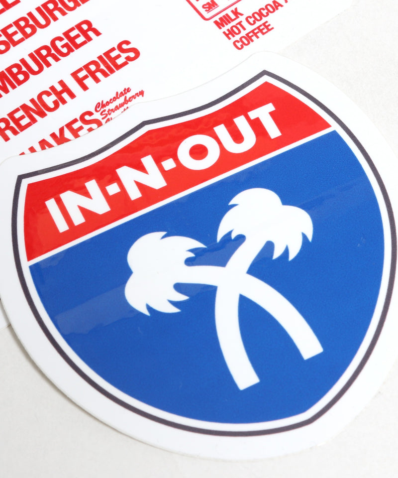 IN-N-OUT BURGER STICKER PACK