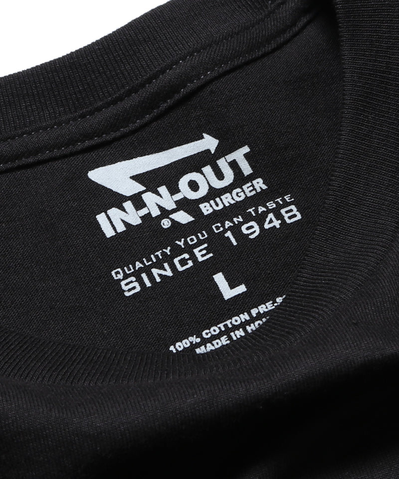 IN-N-OUT BURGER 2017 BLACK CALIFORNIA DREAMIN TEE