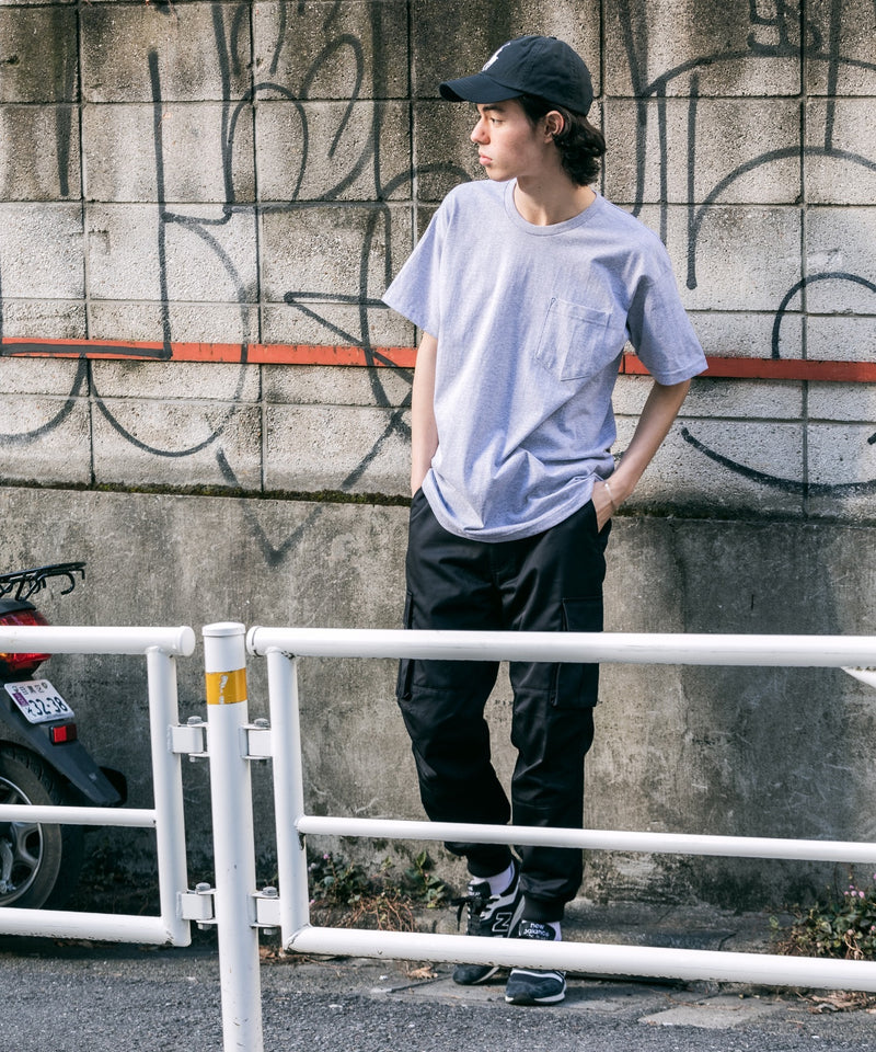 BAYSIDE/ベイサイド Short-Sleeve T-Shirt with Pocket 半袖T/ポケT