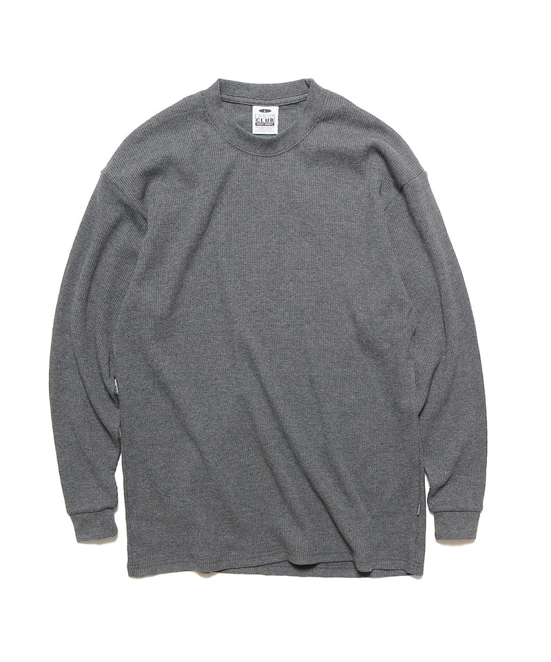 Pro Club/プロクラブ Adult Long Sleeve Tee Thermal(Heavyweight) ヘビーウェイト ワッフル カットソー