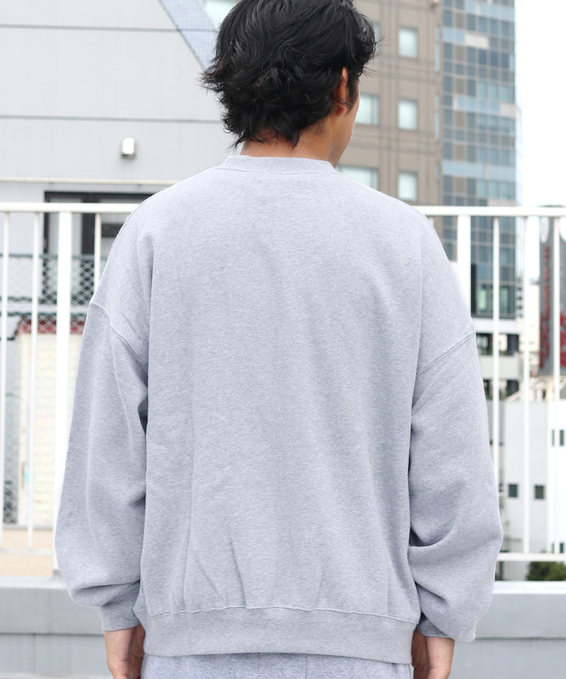 ESSENTIALS/エッセンシャルズ FOG 1POINT LOGO CREW SWEAT トレーナー