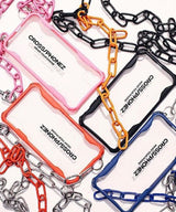 CROSS PHONEZ/クロスフォンズ CHAIN WITH PHONE CASE FOR VARIOUS PHONE iPhoneケース 11/7/8/SE