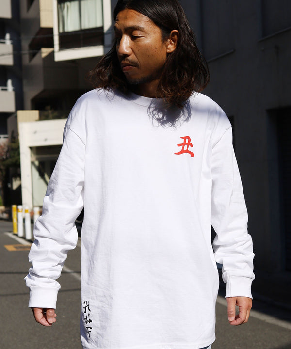 HUF/ハフ YOTO ZEN OX LONG SLEEVE T-SHIRT ロンT