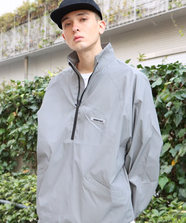 ESSENTIALS/エッセンシャルズ FOG HALF ZIP TRACK JACKET / ESSENTIALS
