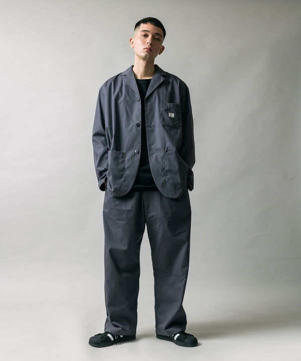 NORTH COLAR JACKET & CHEF DESIGNS BAGGY PANTS SETUP セットアップ