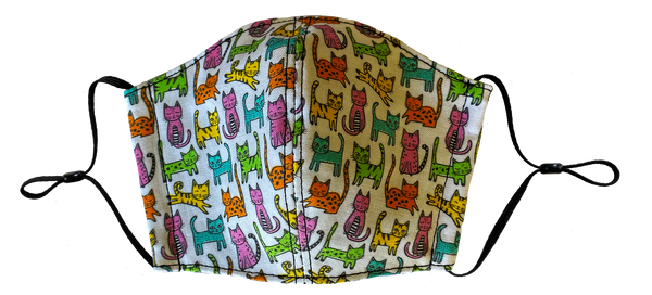 Kids Cat Face Cover
