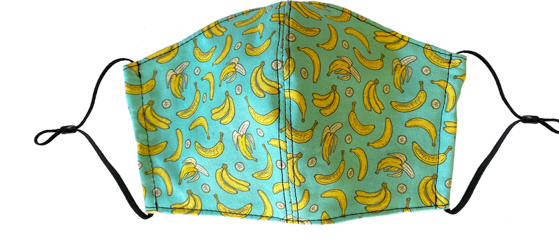 Kids Go Bananas Face Cover