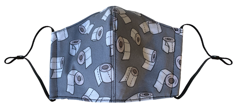 Toilet Paper Face Cover