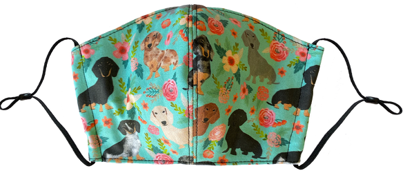Multi Doxie Face Cover