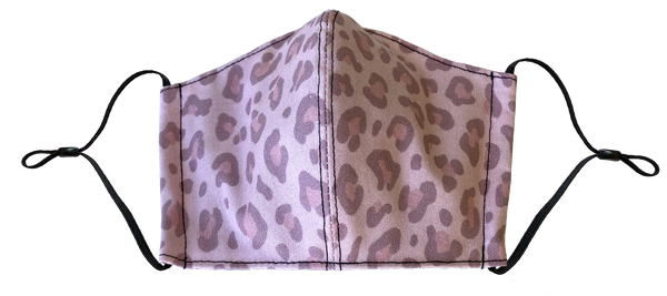 Pink Leopard Face Cover