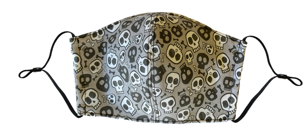 Kids Small Skull Face Cover