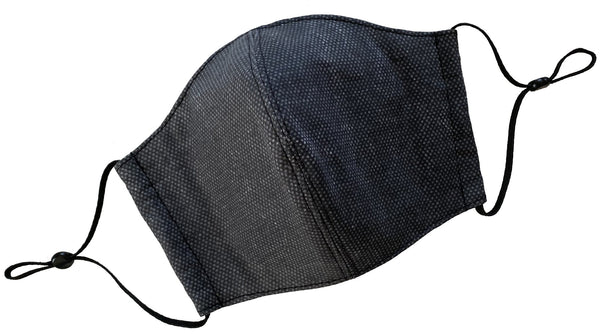 Charcoal Denim Face Cover - LuxeMutt