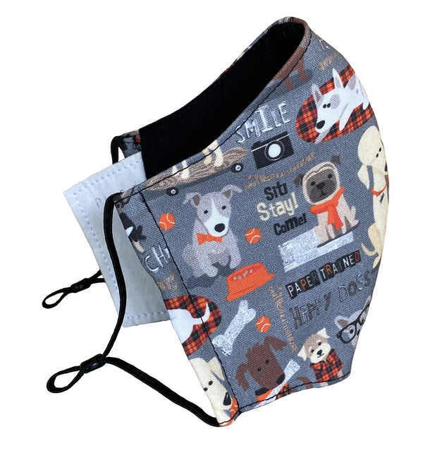 Hipster Dog Face Cover - LuxeMutt