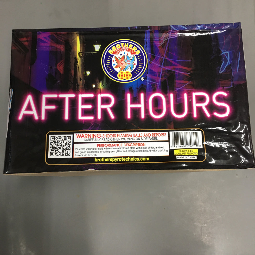 After Hours - 45 shots