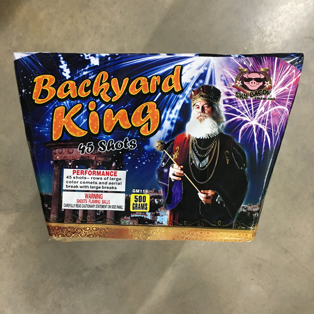 Backyard King - 45 shots