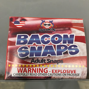 Bacon Snaps (Adult Snaps)