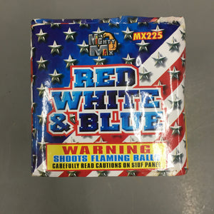 Red, White & Blue - 20 shots