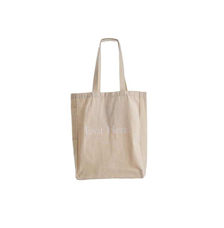 The Tote Bag - White