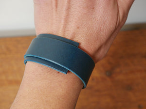 Wrist Wrap Asymmetrical - Buttero Blue