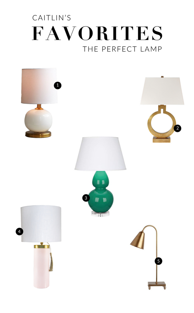 Caitlin's Favorites: Table Lamps