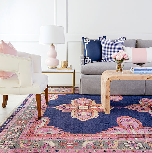 The Navy Kismet Rug