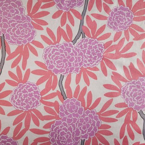 Berry Fleur Chinoise Fabric