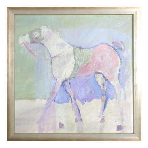 Racing Horse Painting