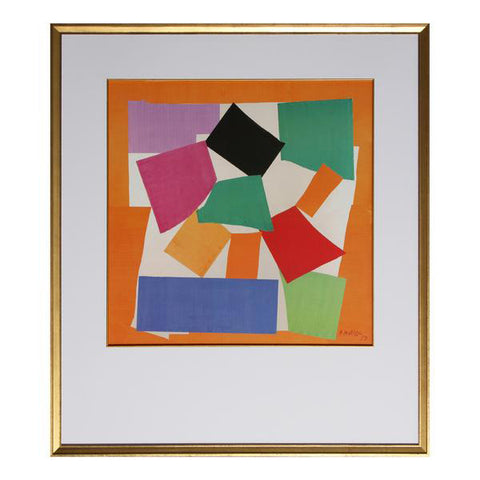 Multicolored Matisse Painting