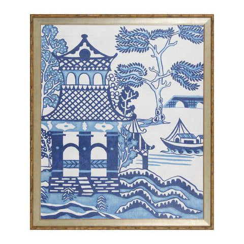 Blue & White Chinoiserie 1