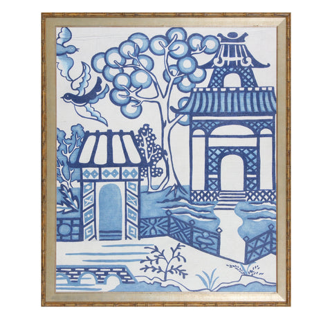 Blue and White Chinoiserie 2