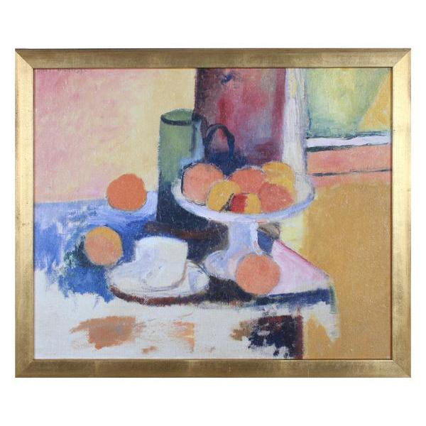 colorful table scape painting