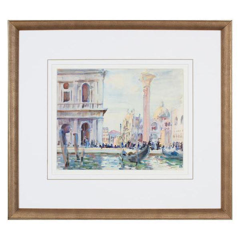Italian Watercolor Scene