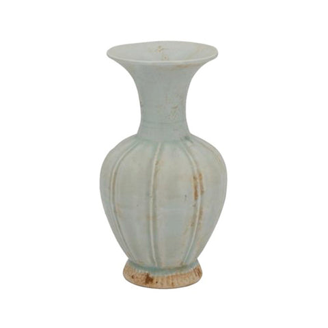 New! Old World Fluted Vase
