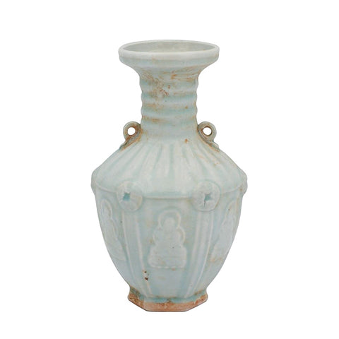 New! Old World Double Ear Vase