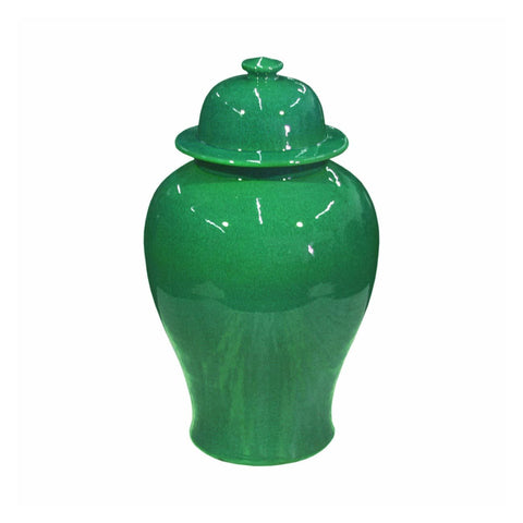 Emerald Temple Jar