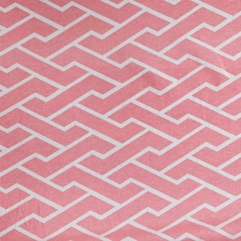Pink City Maze Fabric
