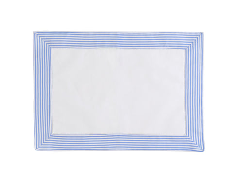 French Blue Stripe Placemats