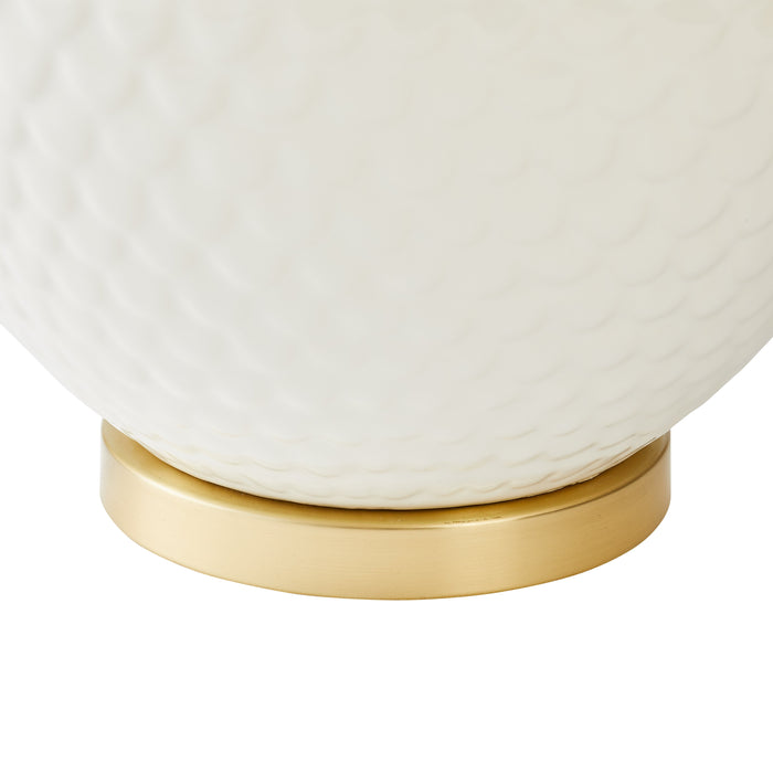 Lawrence Table Lamp in White