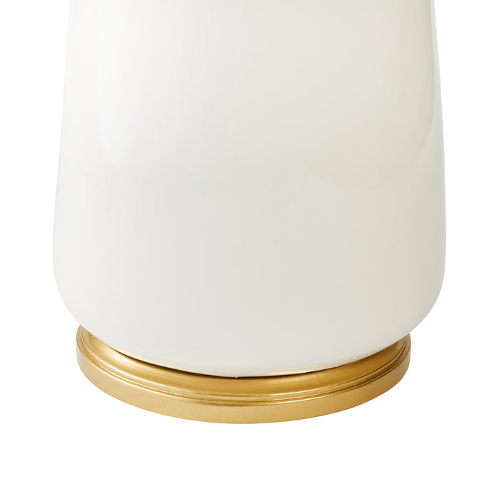 Hattie Table Lamp in White