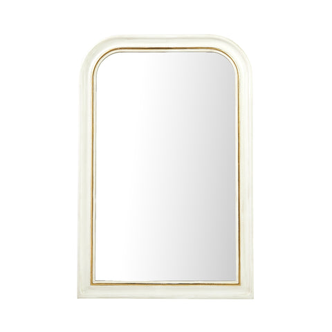 Vera Small Mirror in White