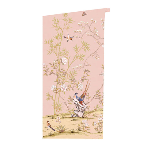 Belfort in Blush Wallpaper