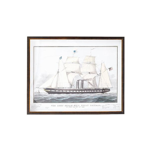 CAIT KIDS: British Ship Print