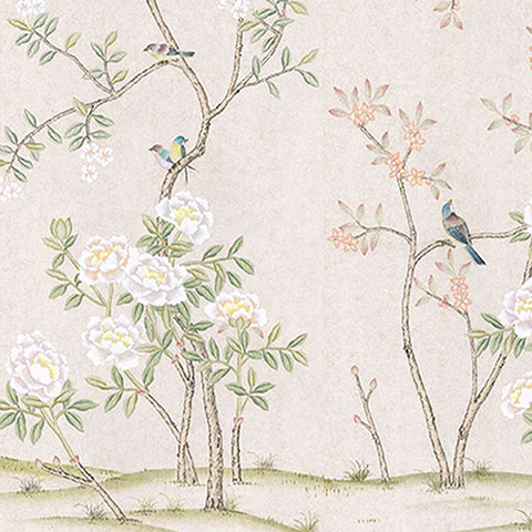 Abingdon in Blush Wallpaper Swatch