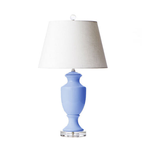 Empire Lamp in French Blue